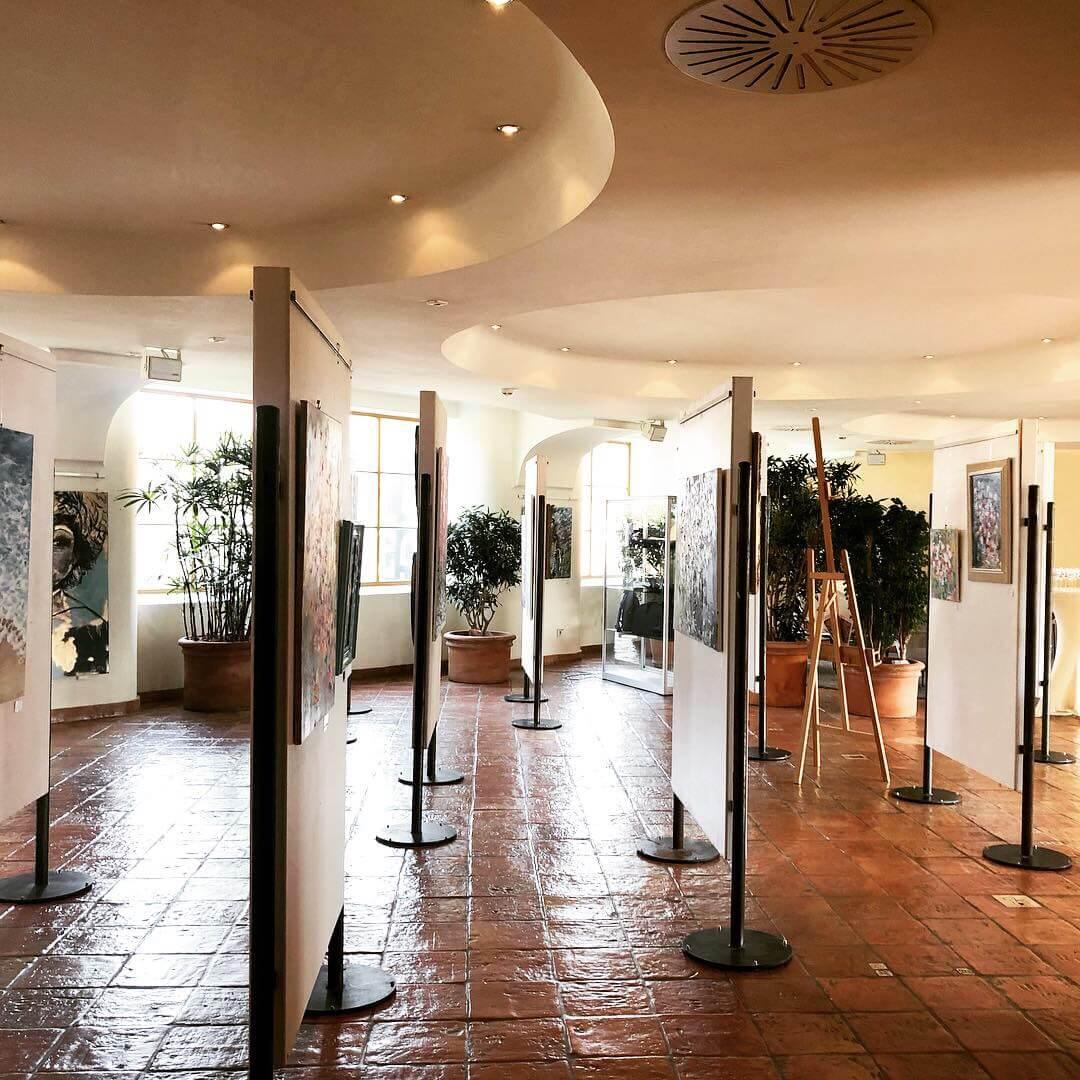 Ausstellung Kunst im Meridian Spa Eppendorf by Juliane Golbs