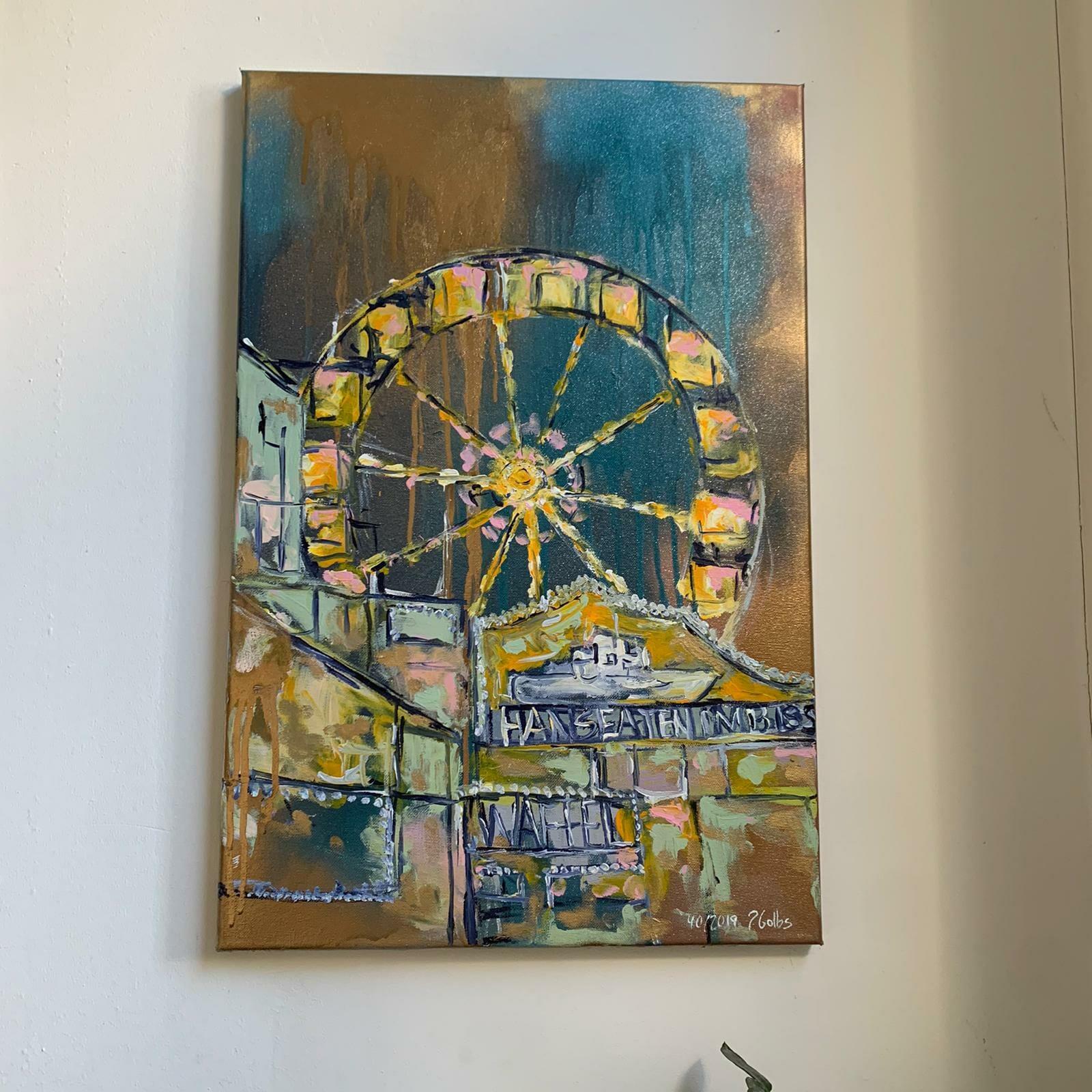 Malinka Ottensen Kostmetik trifft Kunst. Nägeldesign in Hamburg und Kooperation mit Juliane Golbs