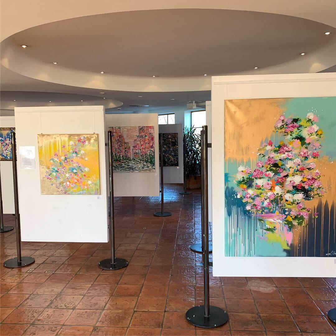 Kunst im Meridian Spa Eppendorf by Juliane Golbs