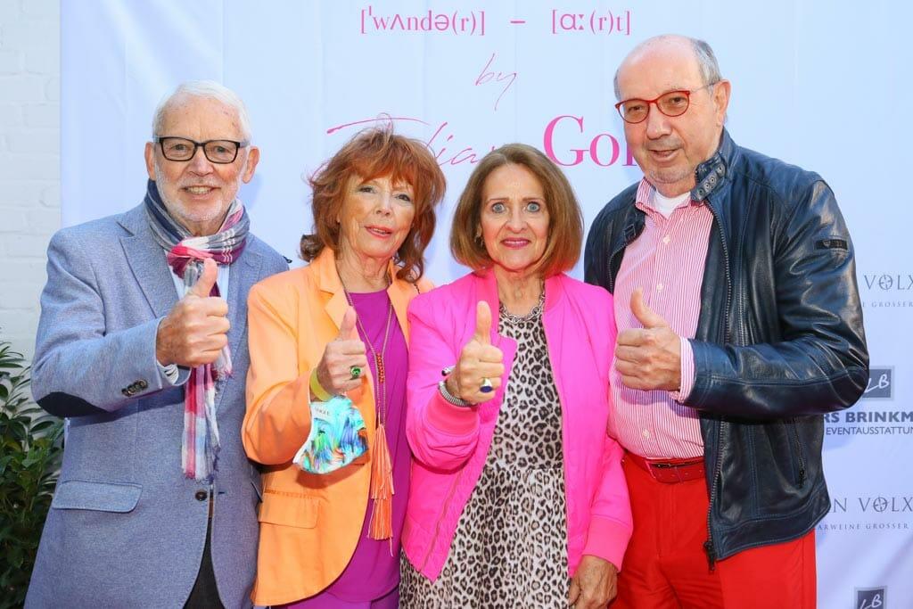 Dieter und Lilian Schmidt, Birgit Saatrübe (NCL) und Dr. Ulrich Möllers (c) Petersen Relations.JPG
